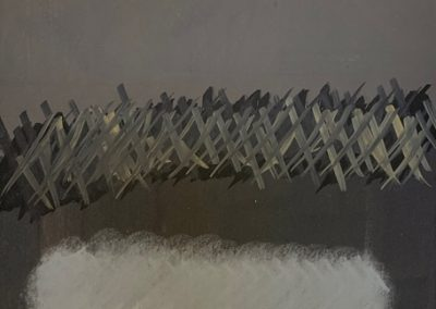 """Drawing Titled """"Crowd Control"""""""
